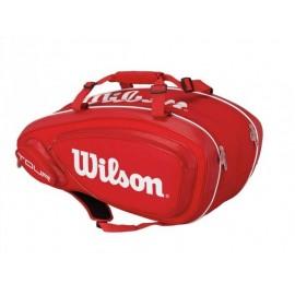 Tenisová taška Wilson Tour V 9 Pack red