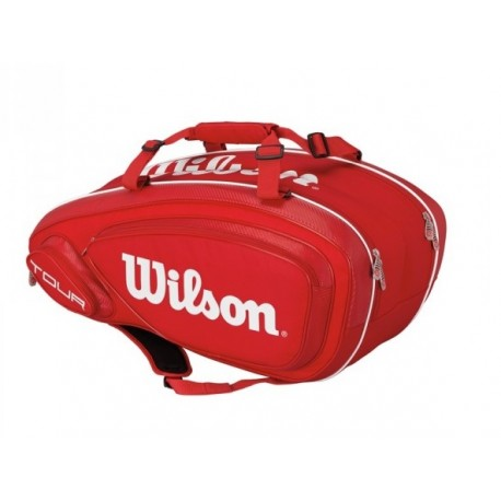 Tenisová taška Wilson Tour V 9 Pack red