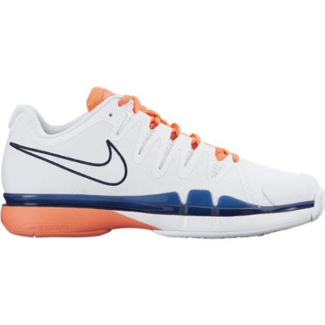 Dámská tenisová obuv Nike Zoom Vapor 9.5 Tour  WHITE/OBSDN-BRGHT MNG-TTL CRMS