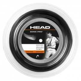 Tenisový výplet HEAD Sonic Pro 1.25 black 200 m