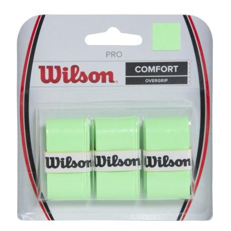 Tenisová omotávka Wilson Pro Optic Green / 3 kusy