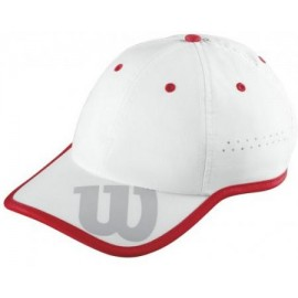 Kšiltovka Wilson Baseball Hat White/red