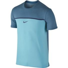 Pánské tenisové tričko Nike Challenger Premier Rafa OMEGA BLUE