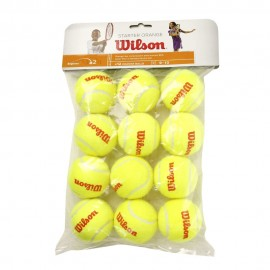 Tenisové míče Wilson Starter Orange 12 ks