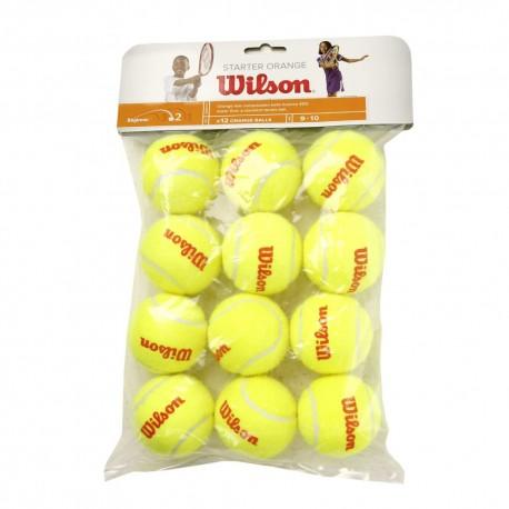 Tenisové míče Wilson Starter Orange ball / 12 kusů