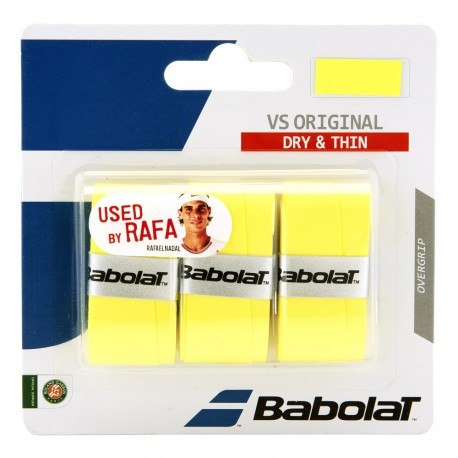 Omotávka Babolat VS Grip Originál X3 yellow