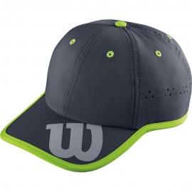 Šiltovka Wilson Baseball Hat Coal/Granny Green