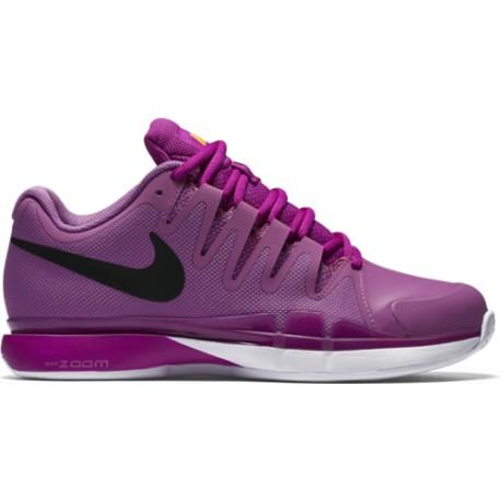 Dámská tenisová obuv Nike Zoom Vapor 9.5 Tour Clay VIOLA BLACK ... ae7deb4457e