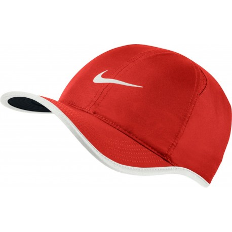 Kšiltovka NIKE Featherlight red/white