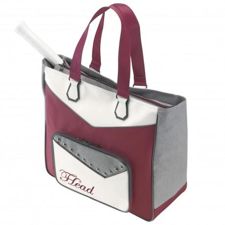 Tenisová taška HEAD Women Club Bag white/red
