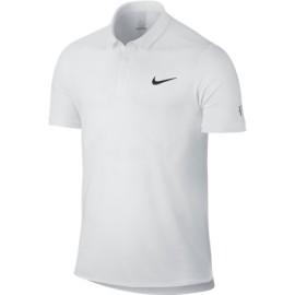 Panské tenisové tričko Nike Advantage RF WHITE