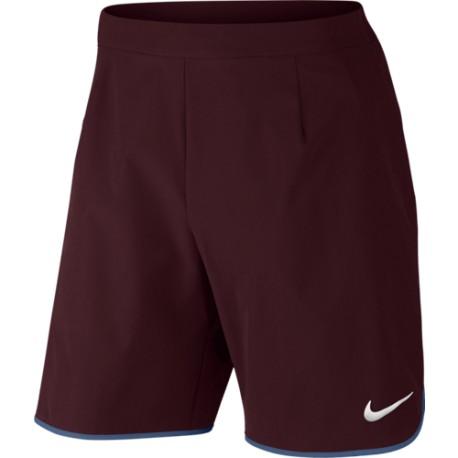 """Pánské tenisové šortky Nike Court Flex 9"""" NIGHT MAROON/WHITE"""