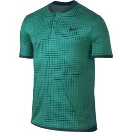 Pánské tenisové tričko Nike Advantage Polo RIO TEAL/MIDNIGHT TURQ