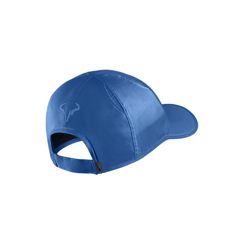 cd5e8dd8f Tenisová kšiltovka Nike Rafa Feather BLUE - Tenissport Březno