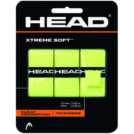 Tenisová omotávka HEAD Xtreme Soft yellow X3