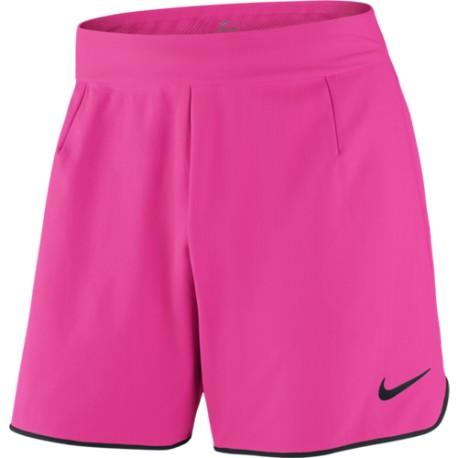 Pánské tenisové šortky Nike Gladiator Premier HYPER PINK/BLACK/BLACK