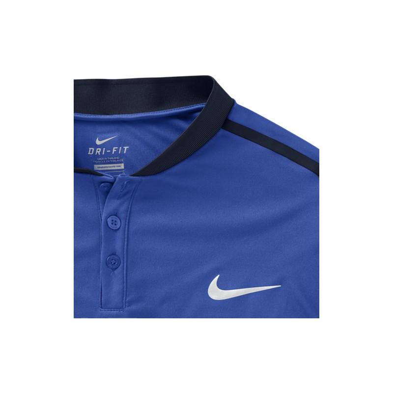 1f4fca04199 ... Pánské tenisové tričko Nike Premier Advantage Polo HYPER COBALT ...