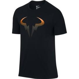 Pánské tenisové tričko Nike Rafa Pop BLACK/Orange