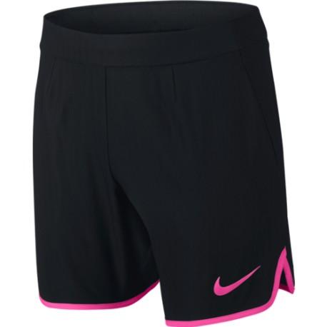 Chlapecké tenisové šortky Nike Gladiator Premier BLACK/HYPER PINK
