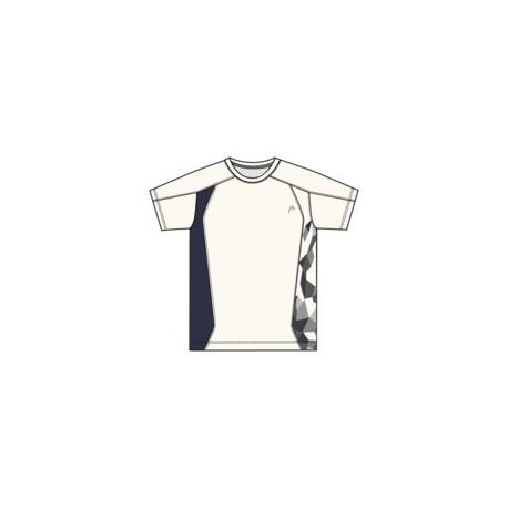 Pánské tenisové tričko HEAD Club  white /black
