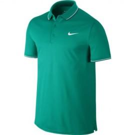 Pánské tenisové tričko Nike Court Polo RIO TEAL/RIO TEAL/WHITE