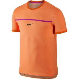 Pánské tenisové tričko Nike Rafa Challenger Premier BRIGHT CITRUS