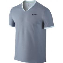 Pánské tenisové tričko Nike RF Dry BLUE GREY