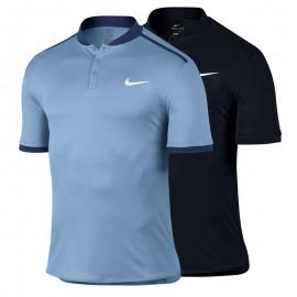 Chlapecké tenisové tričko Nike Premier Advantage Polo BLUE GREY