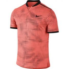 Pánské tenisové tričko NIke Advantage Polo Premier orange/black