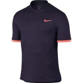 Pánské tenisové tričko Nike Premier Advantage Polo PURPLE DYNASTY/BRIGHT MANGO
