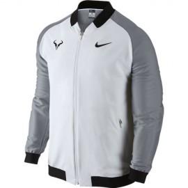 Pánská tenisová bunda Nike Rafa WHITE