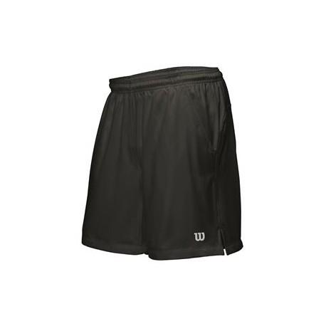 140f7b86221 Pánské tenisové šortky Wilson Rush Woven black - Tenissport Březno