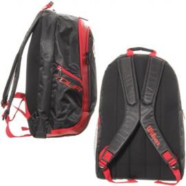 Batoh Wilson badminton 2 black/red