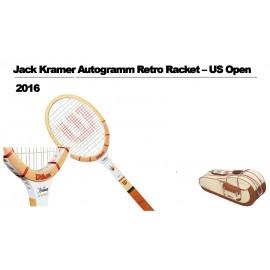 Tenisová raketa Wilson J.Kramer AUTOGRAPH RETRO+bag