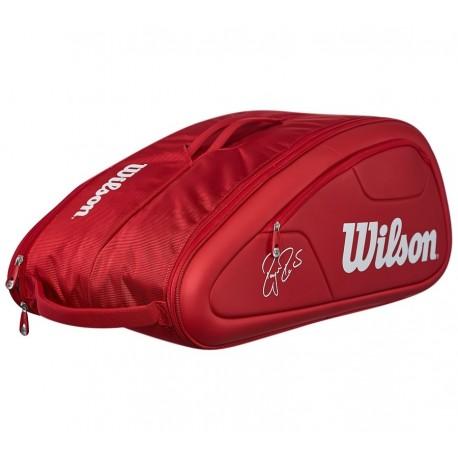 Tenisová taška Wilson Federer DNA 12 Pack red