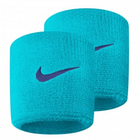 Potítka Nike Wristbands Swoosh light blue X2
