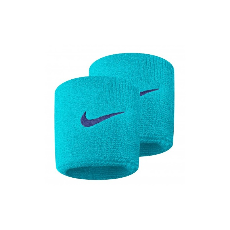 8cda1623b28 Potítka Nike Wristbands Swoosh light blue X2 - Tenissport Březno