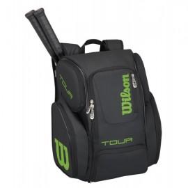 Tenisový batoh Wilson Tour V Large black, limet