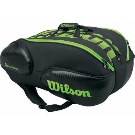 Tenisová taška Wilson Blade 15 black/green