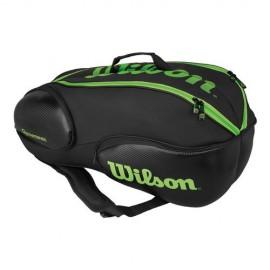 Tenisová taška Wilson Blade Vancouver 9 black/green