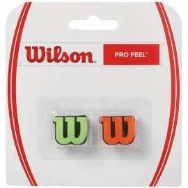 Vibrastop Wilson PRO FEEL Green/orange  2 kusy