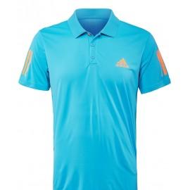 Pánské tenisové tričko adidas Club Polo Samba blue / orange