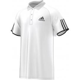 Pánské tenisové tričko adidas Club Polo Samba white/black