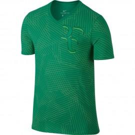 Pánské tenisové tričko Nike RF GREEN
