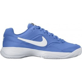 Pánská tenisová obuv Nike Court Lite Clay MEDIUM BLUE/WHITE