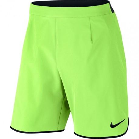 Pánské tenisové šortky Nike Court Flex GHOST GREEN/BLACK