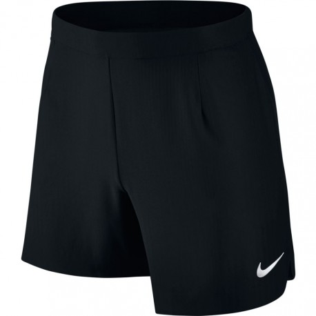 Pánské tenisové tričko Nike Court Flex black/white