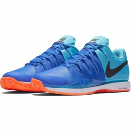 Pánská tenisová obuv Nike Zoom Vapor 9.5 Tour Clay POLARIZED BLUE