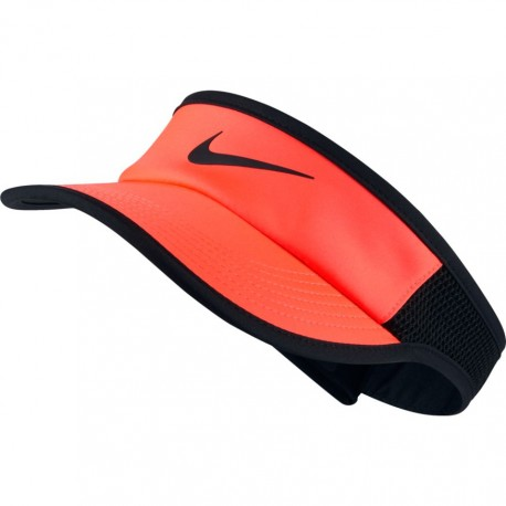 Kšilt Nike AeroBill Featherlight HYPER ORANGE/BLACK