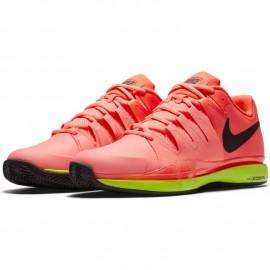 Pánská tenisová obuv Nike Zoom Vapor 9.5 Tour Clay HYPER ORANGE-VOLT